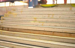 stack of carbon steel plate